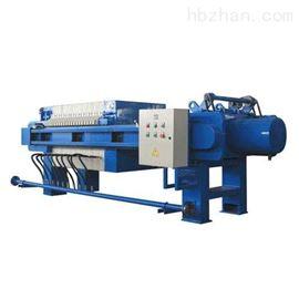 天津環保設備手動保壓型板框式壓濾機參數表