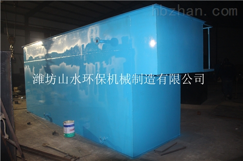 辽宁葫芦岛20方/天玻璃钢地埋式污水处理设备新闻图库