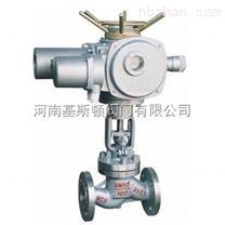 J941H電動鑄鋼法蘭截止閥