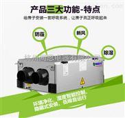 雅安净化新风除湿机厂家 专业防霾+全热交换+净化除湿一体机
