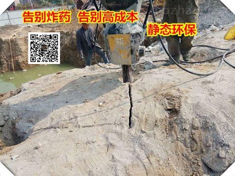 日照用什么机械破碎地基石头速度比较快