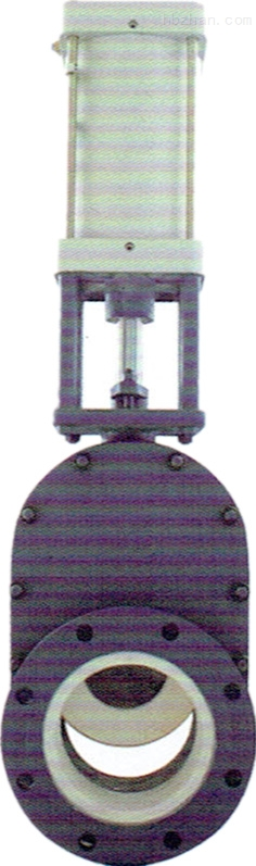 Z644HC-10C气动陶瓷闸阀(双闸板)