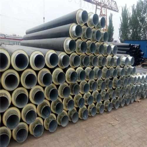 乌兰察布塑套钢热水直埋保温管