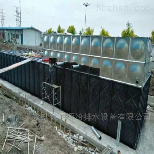埋地式箱泵一体化增压给水设备消防给水泵站