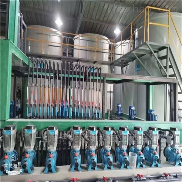 安徽压辊电雕印刷制版电镀废水处理