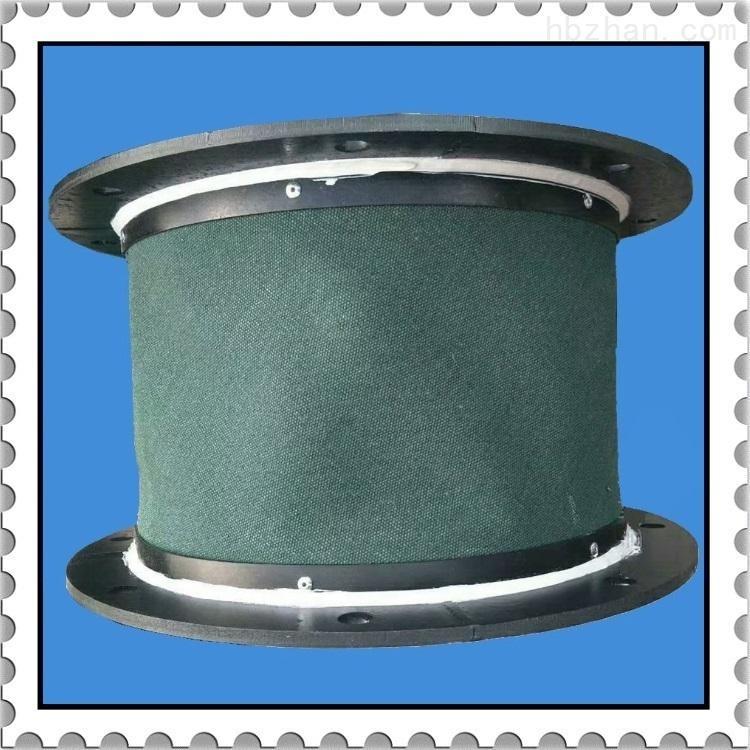 加厚帆布绿色耐高温软连接