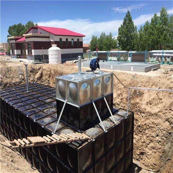 定制地埋式消防箱泵一体化增压泵房