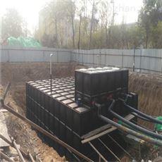 安徽寿县450吨室外消防特种成套供水设备
