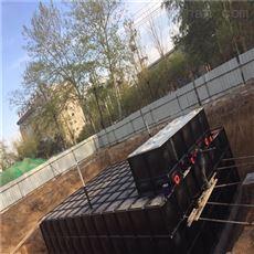 抗浮式地埋箱泵一体化