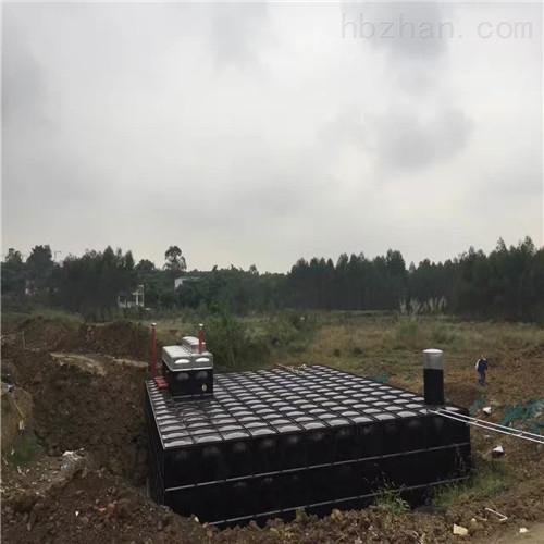浮力对地埋式箱泵一体化设备的影响