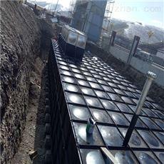 青海有效容积342m3地埋式消防给水设备