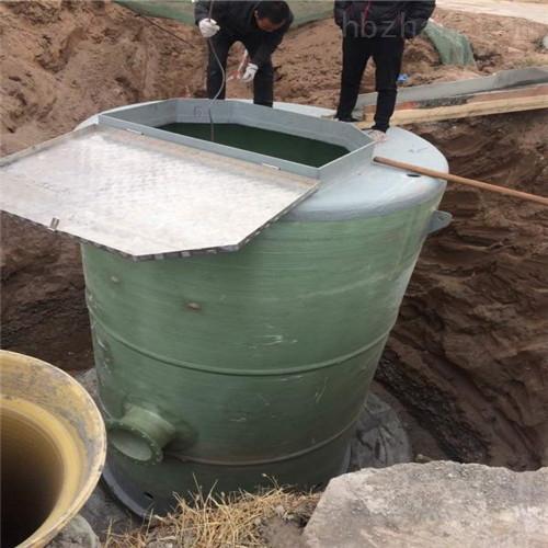 一体化污水提升泵站缓解雨季排污