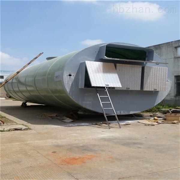 日处理5000立方污水提升一体式泵站大概价格