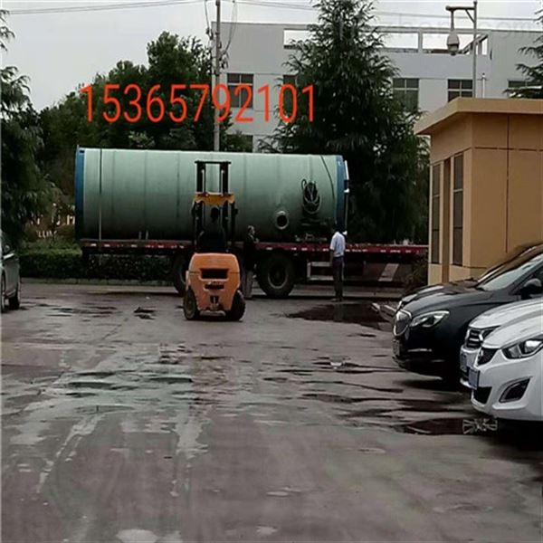 一体化雨污水提升通用泵站