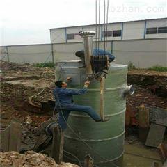 城市排水专用一体化雨水泵站厂