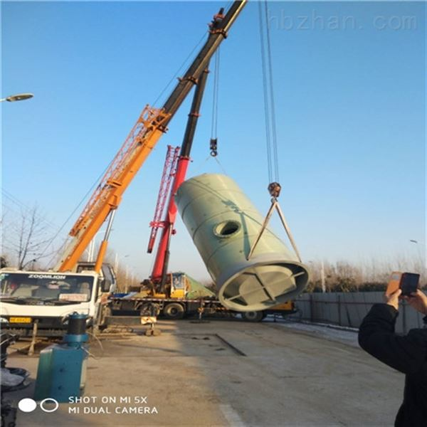地埋式一体化预制泵站按图按需生产