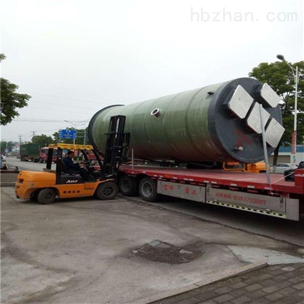 四川内江预制式一体化泵站如何选择厂家?