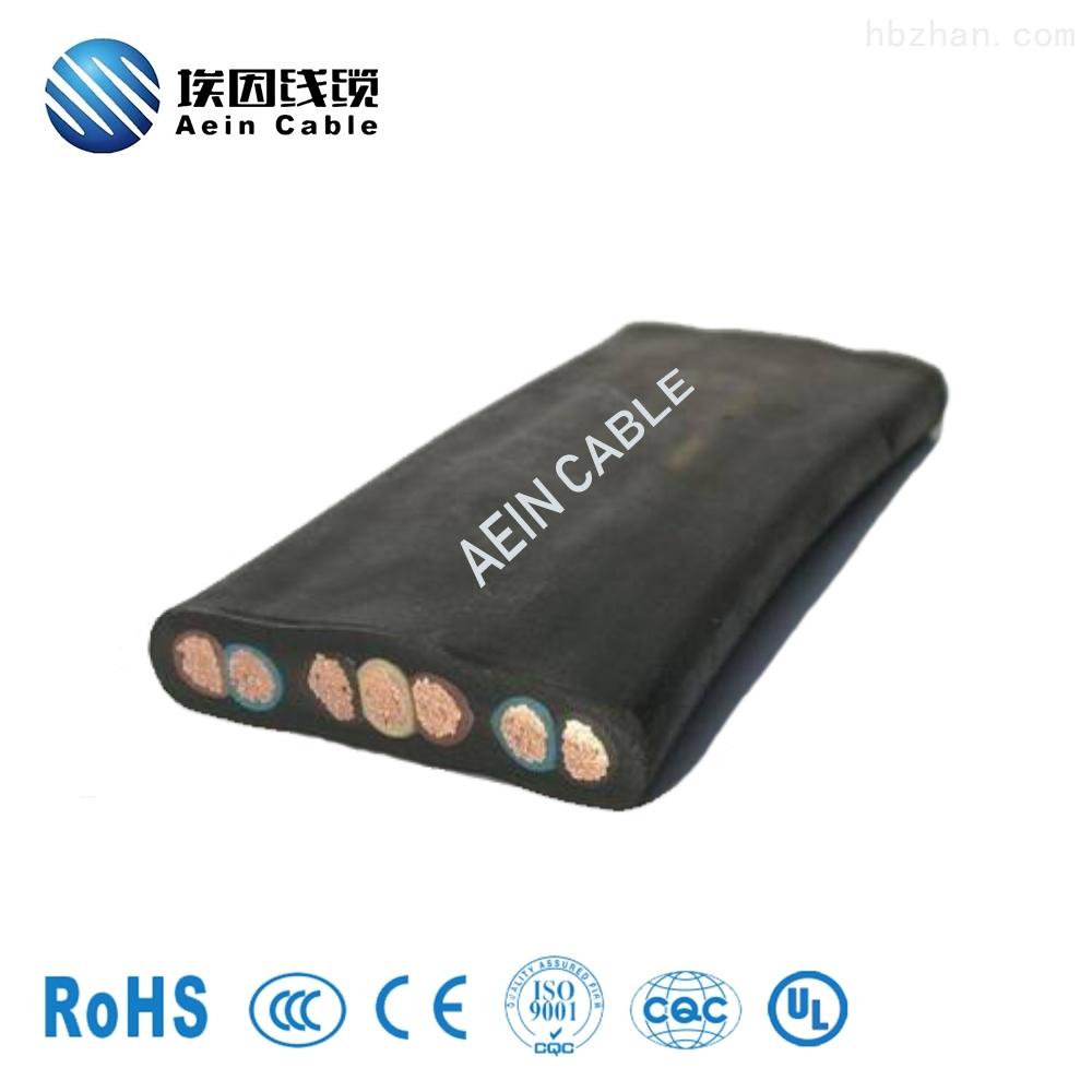 抗寒耐低温欧标扁电缆H07VVD3H6-F