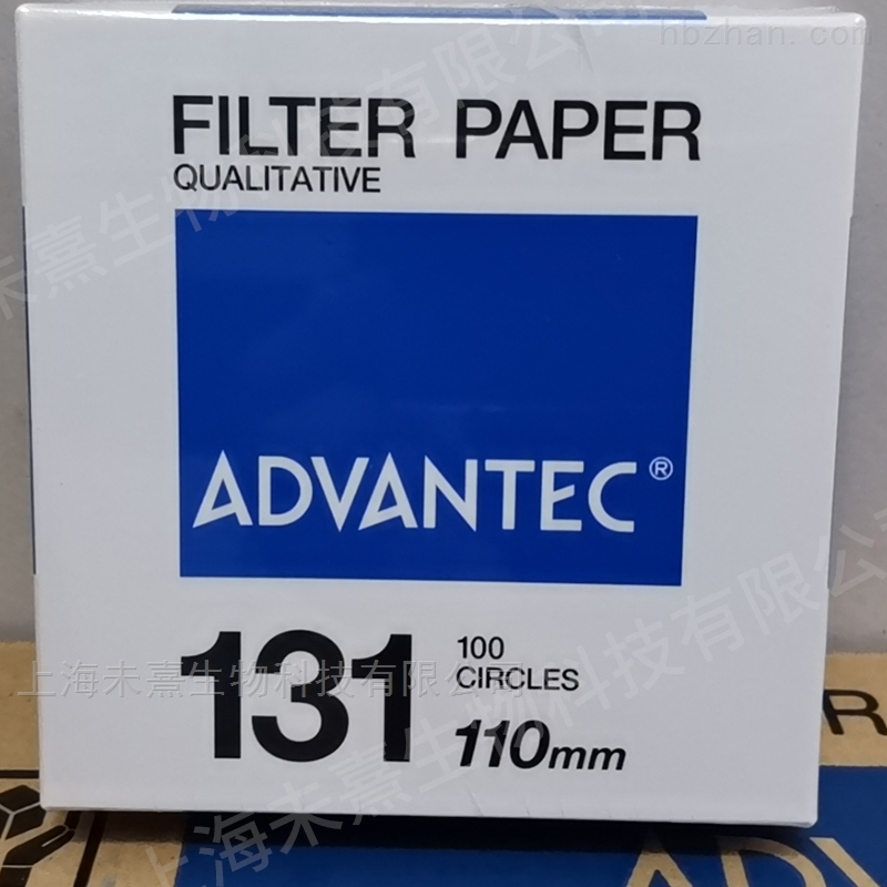 ADVANTEC Grade131定性滤纸