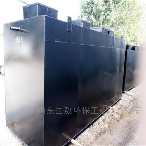 云南文山广南地埋一体化污水处理设备厂家直销