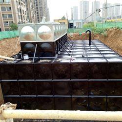 混凝土水池改造成地埋式箱泵一体化过程