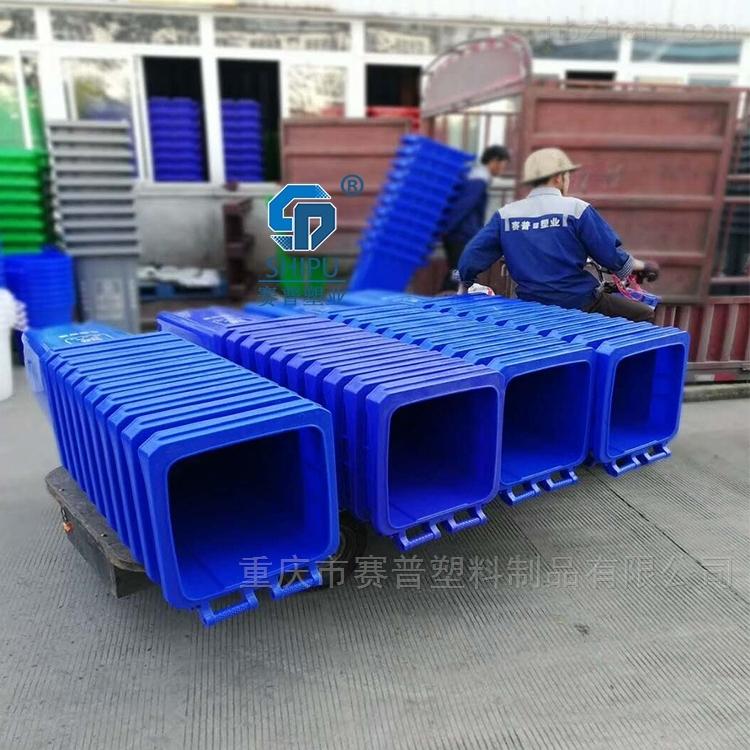 商场240升塑料分类垃圾桶 巫山厂家