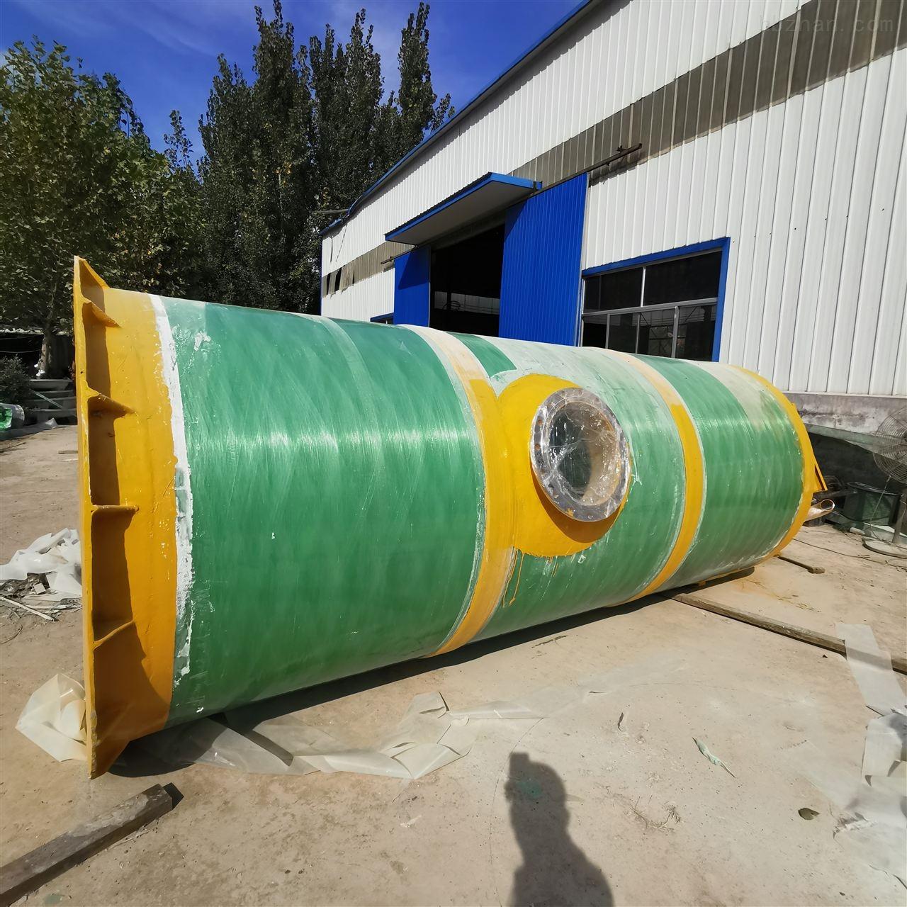 石家庄市GRP一体化预制泵站品质保障