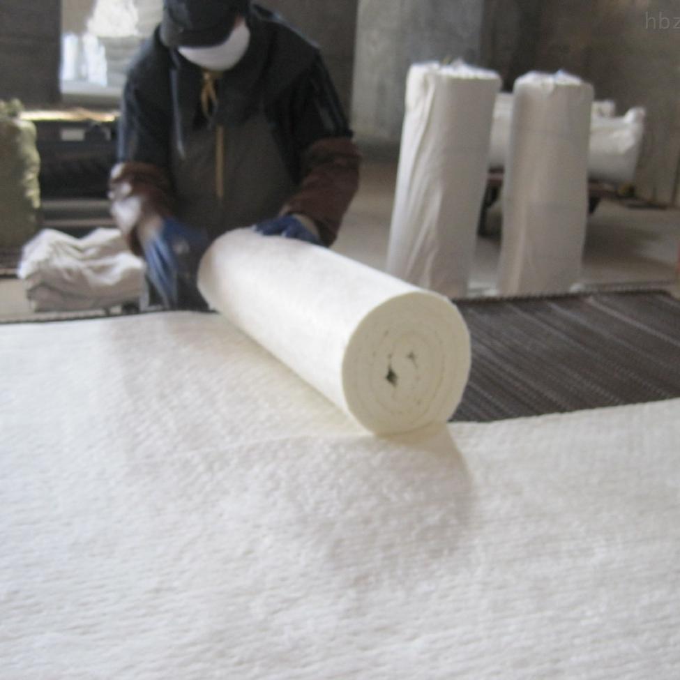 生产定制硅酸铝耐火纤维毯