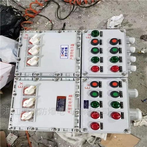 螺杆式冷水机两开门防爆照明配电箱