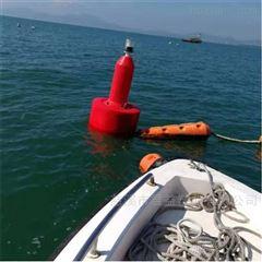 江面警戒浮标带灯