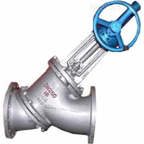 JS545Y-伞齿轮Y型角式料浆阀