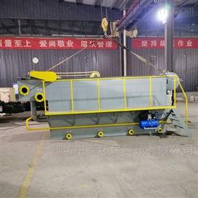 河南长葛市溶气气浮机设备运行出水达标