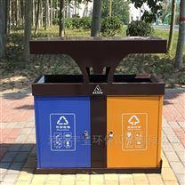 郑州环卫分类果皮箱,三门峡户外垃圾桶厂家