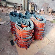水泥散装颗粒防尘输送帆布伸缩布袋