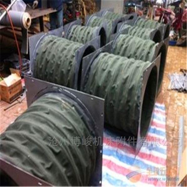 烟机帆布排烟软连接厂家制造