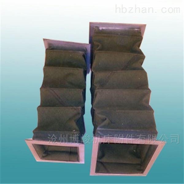 加厚耐磨帆布防尘伸缩软连接生产