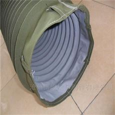 卸料防尘耐磨帆布伸缩布袋生产厂家