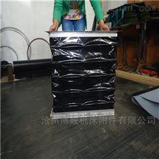 耐高温帆布通风软连接常年生产