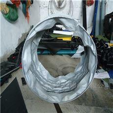 水泥收尘耐高温通风伸缩布袋供应商