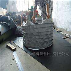 干燥机干灰防尘帆布伸缩布袋定做