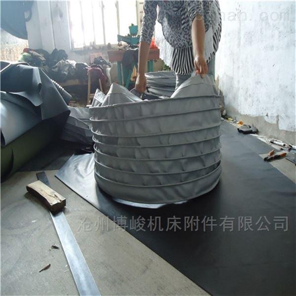 泥沙颗粒输送耐磨帆布伸缩布袋生产