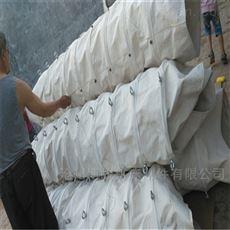 散装机粉末防尘帆布伸缩布袋定做