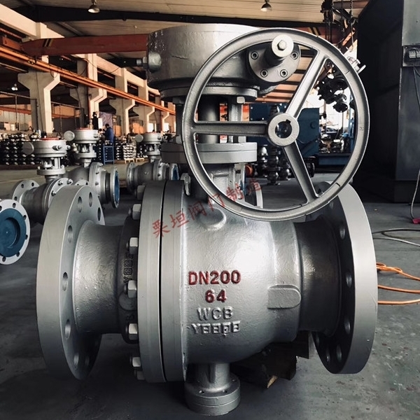 涡轮蜗杆中压球阀Q347F-64C