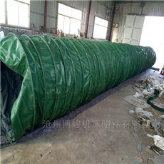 连体式双层水泥卸料帆布伸缩布袋