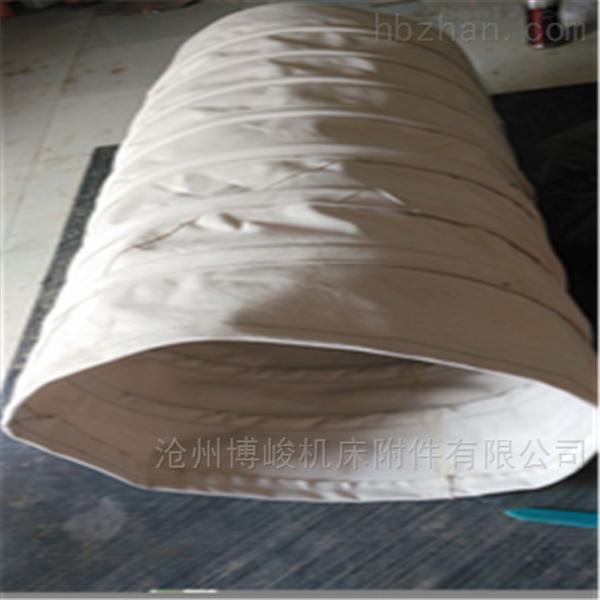 废气排出帆布伸缩软连接规格