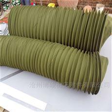 散装机卸料耐磨帆布伸缩布袋 生产