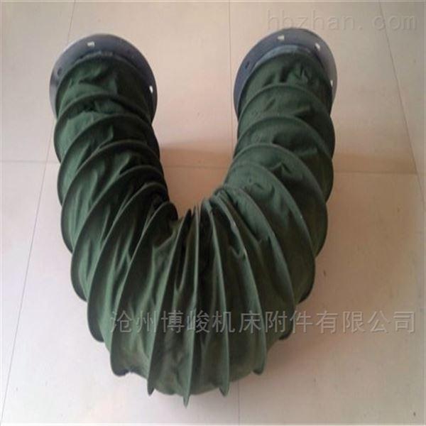 优质绿色加厚帆布软连接厂家制造