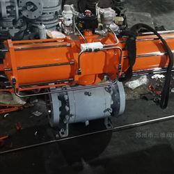 Q647F锻钢气动球阀