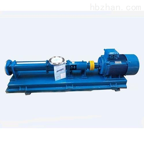 工业污泥螺杆泵