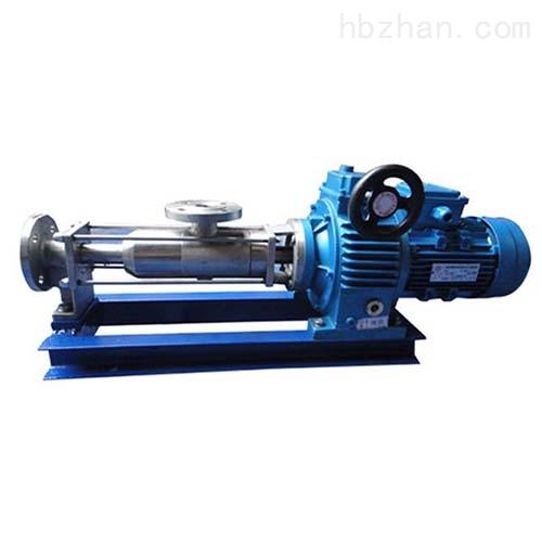 直联式单螺杆泵
